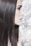 Naturlig stående för blickkvinnaskönhet Royaltyfria Bilder