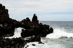 Naturlig stenbåge Arkivbild