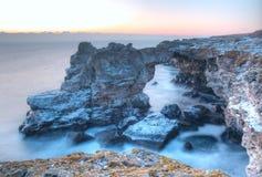 Naturlig stenbåge Fotografering för Bildbyråer