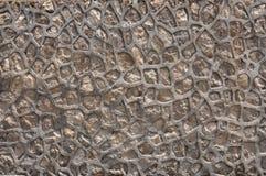 naturlig stenvägg Royaltyfri Fotografi