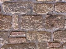 naturlig stenvägg Arkivbilder