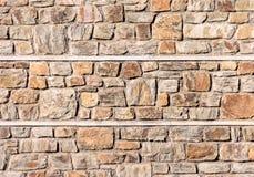Naturlig stenvägg som göras av stentextur för inredesign Arkivfoto