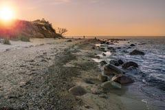 naturlig strand Royaltyfri Foto