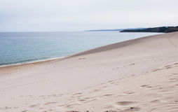 naturlig strand royaltyfri fotografi