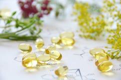 naturlig supplement Fotografering för Bildbyråer