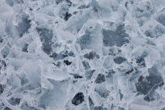 naturlig surface textur för is Arkivbilder