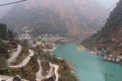 Naturlig syster Indien för skönhetGangtok Sikkim norr öst sju Arkivfoto