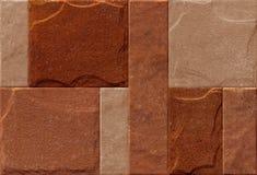 Naturlig tegelstentapet och textur som används för väggtegelplattan, den digitala utskrivande tapeten och golvtegelplattan, badru fotografering för bildbyråer