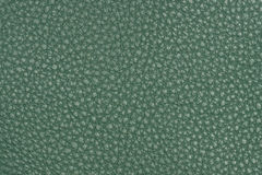 naturlig textur för grönt läder Arkivfoton