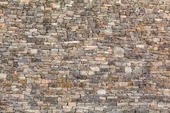 Naturlig textur för stenvägg - bakgrund Fotografering för Bildbyråer