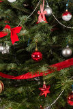 naturlig tree för jul royaltyfria foton
