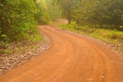 Naturlig väg. Royaltyfria Foton