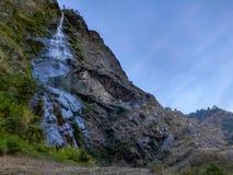 naturlig vattenfall royaltyfri bild