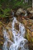 Naturlig vattenrunoff Arkivbild