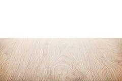 Naturlig wood tabellbakgrund royaltyfria bilder