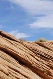 Naturliga bildande för sandsten i Arizona Royaltyfria Bilder