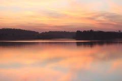 Naturliga färger i himmel Arkivbild