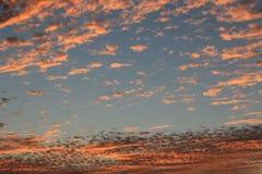 Naturliga färger i himmel Royaltyfri Fotografi