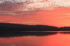 Naturliga färger i himmel Arkivfoto