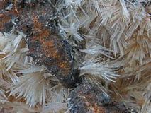 Naturliga former Mineraler och halv-dyrbara stentexturer och bakgrunder Royaltyfri Bild