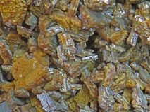 Naturliga former Mineraler och halv-dyrbara stentexturer och bakgrunder Royaltyfri Foto