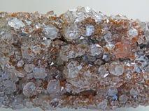 Naturliga former Mineraler och halv-dyrbara stentexturer och bakgrunder Arkivfoton