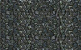 Naturliga grå färger för stentexturbakgrund Många kullersten är den naturliga basen Royaltyfria Bilder