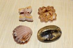 Naturliga handgjorda tvålar som göras från naturliga ingredienser Royaltyfri Bild
