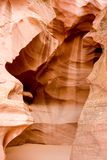 naturliga kanjoner för antiloparizonasskönhet royaltyfria foton
