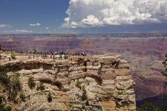 Naturliga klippor för Grand Canyon arkivfoto