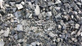 Naturliga kol abstrakt bakgrundstextur Royaltyfri Bild
