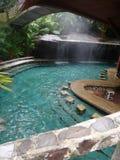Naturliga mineraliska Hot Springs och stänger 2 Royaltyfri Bild