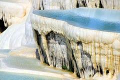 Naturliga mineraliska insättningar Royaltyfri Fotografi