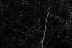 Naturliga modeller för abstrakt svart marmortextur för design Arkivbild