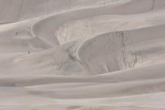 Naturliga modeller på den stora nationalparken för sanddyn i Colorado Arkivfoton