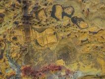 Naturliga Rocktexturer Royaltyfria Foton
