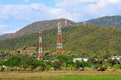 Naturliga sikter i aftonen på Thailand Royaltyfria Foton