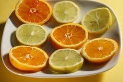 naturliga skivade vitaminer Royaltyfri Foto
