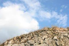 Naturliga sky och oklarheter Arkivfoton