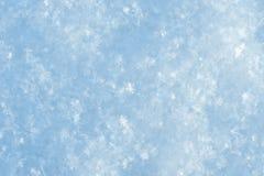 naturliga snowflakes Fotografering för Bildbyråer