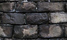 Naturliga stenar texturerade tegelstenkvarter för gammal grunge bakgrund Arkivfoton