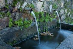 Naturliga vattenkällor Royaltyfria Foton