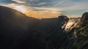 Naturliga Vesuvius parkerar Timelapse lager videofilmer