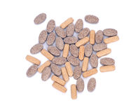 Naturliga vitamintilläggpreventivpillerar Royaltyfria Bilder