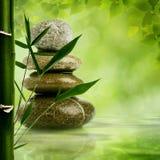 Naturliga zenbakgrunder Royaltyfria Bilder