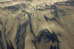 Naturligt bildad sandstrand Royaltyfri Fotografi