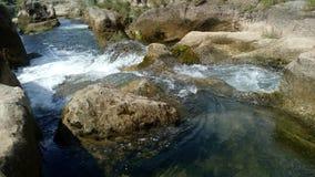 Naturligt flodvatten Arkivfoton