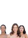 Naturligt härligt näckt posera för kvinnor Royaltyfria Foton