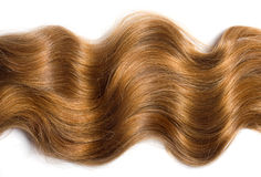 Naturligt hår Arkivbilder