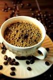 Naturligt kaffe. Arkivbilder